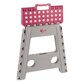 Kleeneze® KL064479EU6 Large Step Stool with Carry Handle| Lightweight | Folds Easily for Compact Storage | Ideal for Hard to Reach Places Thumbnail 3