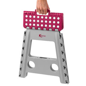 Kleeneze® KL064479EU6 Large Step Stool with Carry Handle| Lightweight | Folds Easily for Compact Storage | Ideal for Hard to Reach Places Thumbnail 4