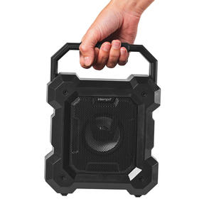 Intempo® EE5601BLKSTKEU7 Tempo WDS 169 Bluetooth Speaker | Portable | 3 W Speaker Output | Colour Changing LED Lights Thumbnail 2