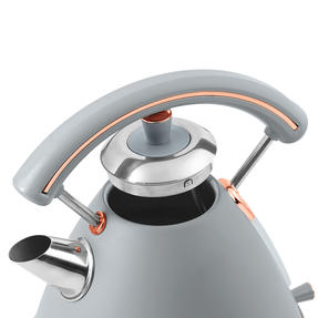 Salter EK3643GRG Pyramid Kettle | 1.7 Litre | 3000W, Grey/Rose Gold Edition | 36 Thumbnail 5