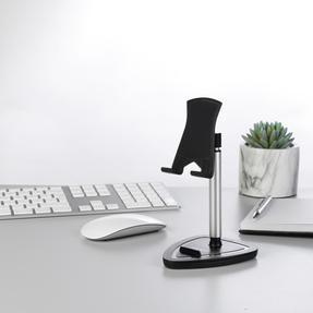 Intempo® EE5981BLKSTKEU7 Extendable Tablet and Phone Desktop Holder | Adjustable Head | Metallic Stand Thumbnail 2