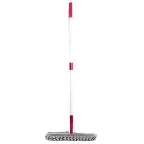 Kleeneze KL026750UFEU7 2-in-1 Flexi Mop with Extendable Neck | Treated with Anti