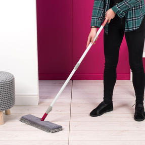 Kleeneze KL026750UFEU7 2-in-1 Flexi Mop with Extendable Neck | Treated with Anti Bac Protection Thumbnail 7