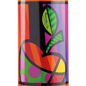 Britto KBR44-PME Orange & Pop Art Apple Insulated Flask Bottle | 500 ml | Stainless Steel Thumbnail 2