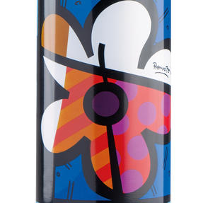 Britto KBR44-PFI Floral Blue Insulated Flask Bottle | 500 ml | Stainless Steel Thumbnail 2