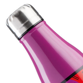Britto KBR44-PGA Purple & Pop Art Cat Insulated Flask Bottle | 500 ml | Stainless Steel Thumbnail 3
