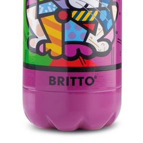 Britto KBR44-PGA Purple & Pop Art Cat Insulated Flask Bottle | 500 ml | Stainless Steel Thumbnail 4