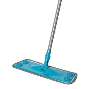 Beldray® LA079411EU7 3 in 1 Multifunctional Flat Head Mop | 3 Interchangeable Cleaning Pads | Extendable Handle | Fluffy/Scrubbing/Microfibre Pads | Perfect for Hard Floors