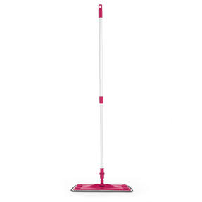 Kleeneze® KL079619EU7 All in One Flat Head Mop with Extendable Handle | Interchangeable Fluffy/Scrubbing/Microfibre Cleaning Pads | Perfect for Hard Floors Thumbnail 5