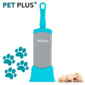 Beldray® LA077837EU7 Pet Plus+ Pet Hair Lint Dust Removal Brush with Stand | Micro Bristles/Detachable Base | Turquoise/Grey Thumbnail 2