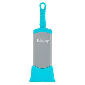 Beldray® LA077837EU7 Pet Plus+ Pet Hair Lint Dust Removal Brush with Stand | Micro Bristles/Detachable Base | Turquoise/Grey Thumbnail 6