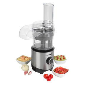 Salter® EK4244 Mini Processor Pro | Chop, Slice, Shred | 2 Speeds with Pulse | 3 Thumbnail 1