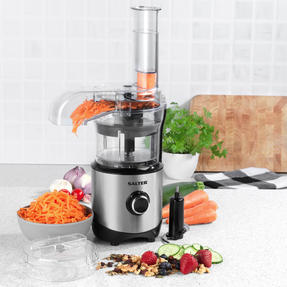 Salter® EK4244 Mini Processor Pro | Chop, Slice, Shred | 2 Speeds with Pulse | 300 W | 0.9 L | Black/Silver Thumbnail 5