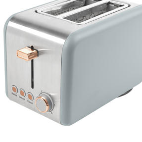 Salter® 2-Slice Toaster with Wide Slots & Removable Crumb Tray | 850 W | Defrost/Reheat/Cancel Thumbnail 6