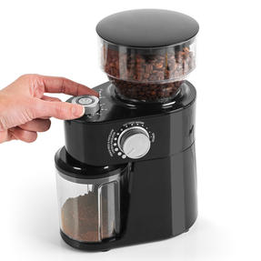 Salter® EK4367 Caffé Burr Coffee Grinder | With Coarse, Medium and Fine Settings | Auto Shut-off | Removable Grinding Wheel for Easy Cleaning Thumbnail 3