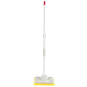 Kleeneze® KL077332UFEU7 Anti-Bac Sponge Mop with Refill | Treated with Anti-Bac Protection | Super-Absorbent | Powerful Wringing Action | Includes Extra Mop Head Thumbnail 2