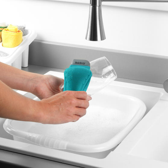 Beldray® Flexible Silicone Cleaning Pad | Compact Design | Suitable for Tableware, Pots and Pans, Glassware and More  Main Image 4