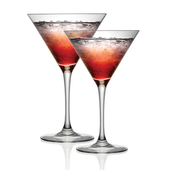 Cristal D?Arques P506388 Set of 2 Cocktail Glasses | 300 ml | Perfect for Dinner Parties and Special Occasions | Chip Resistant | Dishwasher Suitable