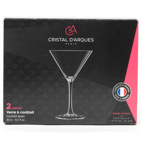 Cristal D?Arques P506388 Set of 2 Cocktail Glasses | 300 ml | Perfect for Dinner Parties and Special Occasions | Chip Resistant | Dishwasher Suitable Thumbnail 4