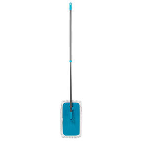Beldray® LA079435EU7 Speed Clean Extra Wide Flat Head Mop | Extendable Pole | Machine Washable Microfibre Head | Turquoise