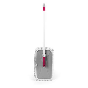 Kleeneze® KL079633EU7 Speed Clean Extra Wide Flat Head Mop | Extendable Pole | Machine Washable Microfibre Head | White/Pink Thumbnail 3