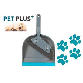 Beldray® LA071576EU7 Pet Plus Foam Dustpan and Brush | Ideal for Families with Pets | Turquoise/Grey Thumbnail 2