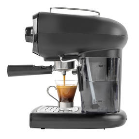 Salter® EK4369 Caffé Barista Pro Espresso Maker | 15-Bar Pressure Pump | Makes 2 Cups at Once | Includes Milk Frothing Wand | Durable Stainless Steel Filter Thumbnail 10