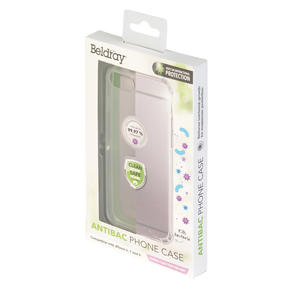 Beldray® EE5971CDUSTKEU7 Antibac iPhone Phone Case | Antibacterial Plastic | Compatible with iPhone 6/7/8 | Reduces Bacterial Growth Thumbnail 2