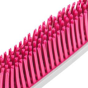 Kleeneze® KL076793EU7 Heart Rubber Head Dustpan and Brush Set   Easy to Store   Heart Shaped Bristles Thumbnail 7