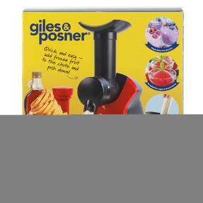 Giles & Posner® EK4002 Frozen Dessert Maker   250 W   Quick and Easy to Use   Create Delicious and Healthy Desserts Thumbnail 7