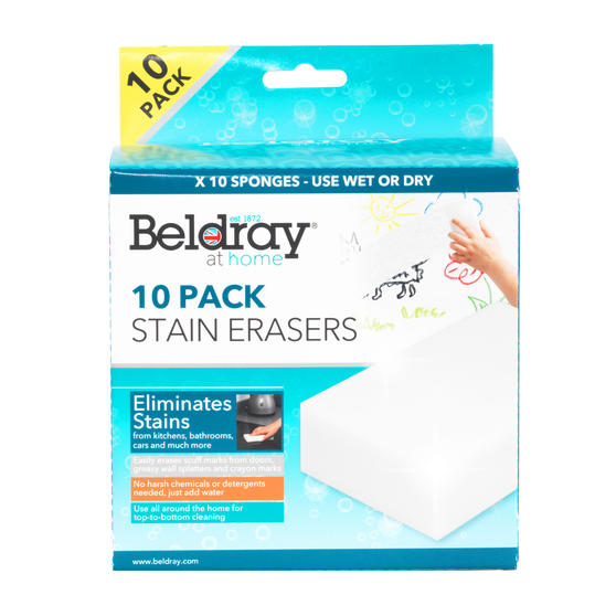 Beldray® LA080516EU7 Magic Sponge | Just Add Water | Multipurpose | Pack of 10
