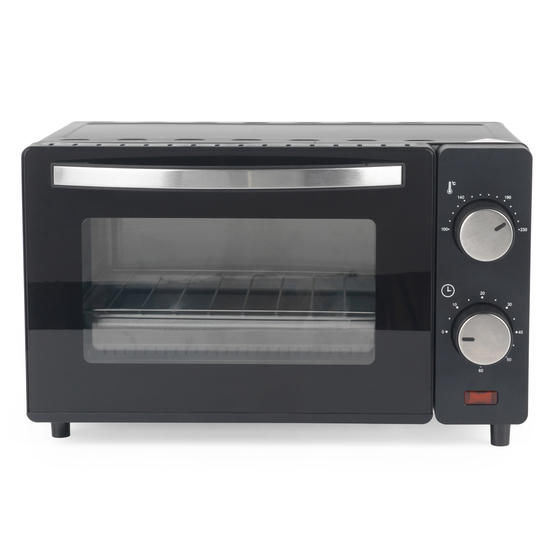 Salter® EK4358 10 Litre Toaster Oven | Compact Design | Variable Temperature Control | 60-Minute Timer | Automatic Safety Shut-Off