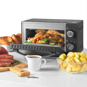 Salter® EK4358 10 Litre Toaster Oven | Compact Design | Variable Temperature Control | 60-Minute Timer | Automatic Safety Shut-Off Thumbnail 6