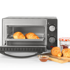 Salter® EK4358 10 Litre Toaster Oven | Compact Design | Variable Temperature Control | 60-Minute Timer | Automatic Safety Shut-Off Thumbnail 7
