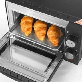 Salter® EK4358 10 Litre Toaster Oven | Compact Design | Variable Temperature Control | 60-Minute Timer | Automatic Safety Shut-Off Thumbnail 8