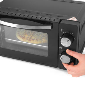 Salter® EK4358 10 Litre Toaster Oven | Compact Design | Variable Temperature Control | 60-Minute Timer | Automatic Safety Shut-Off Thumbnail 9