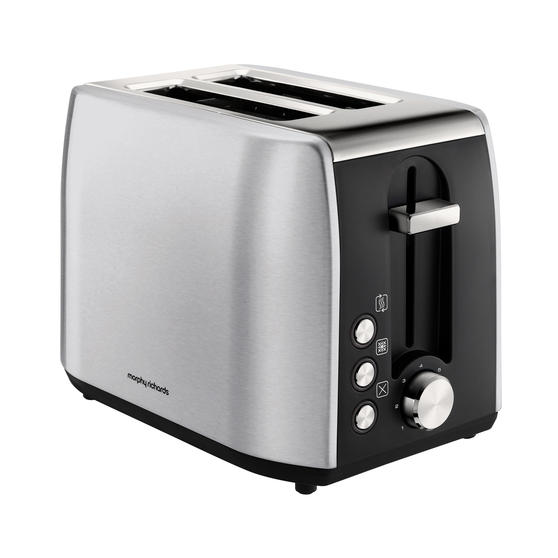 Morphy Richards 222057 Stainless Steel Equip 2-Slice Toaster