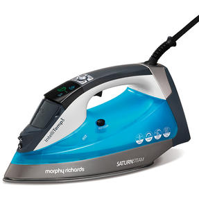 Morphy Richards 305003 Saturn Steam Intellitemp Iron | 2 Steam Settings | 1.5 Bar Pressure | AreoGlide Technology | Auto Shut-Off | Blue Thumbnail 1