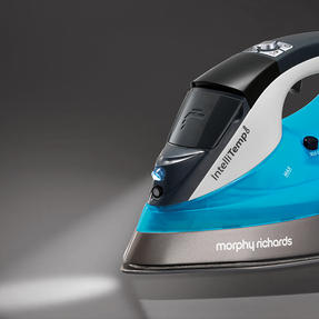 Morphy Richards 305003 Saturn Steam Intellitemp Iron | 2 Steam Settings | 1.5 Bar Pressure | AreoGlide Technology | Auto Shut-Off | Blue Thumbnail 2