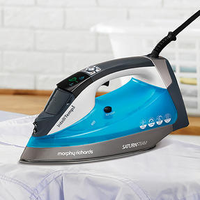 Morphy Richards 305003 Saturn Steam Intellitemp Iron | 2 Steam Settings | 1.5 Bar Pressure | AreoGlide Technology | Auto Shut-Off | Blue Thumbnail 8