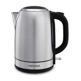 Morphy Richards 102779 Equip Jug Kettle | Rapid Boil | 3000 W | 1.7 L | Stainless Steel