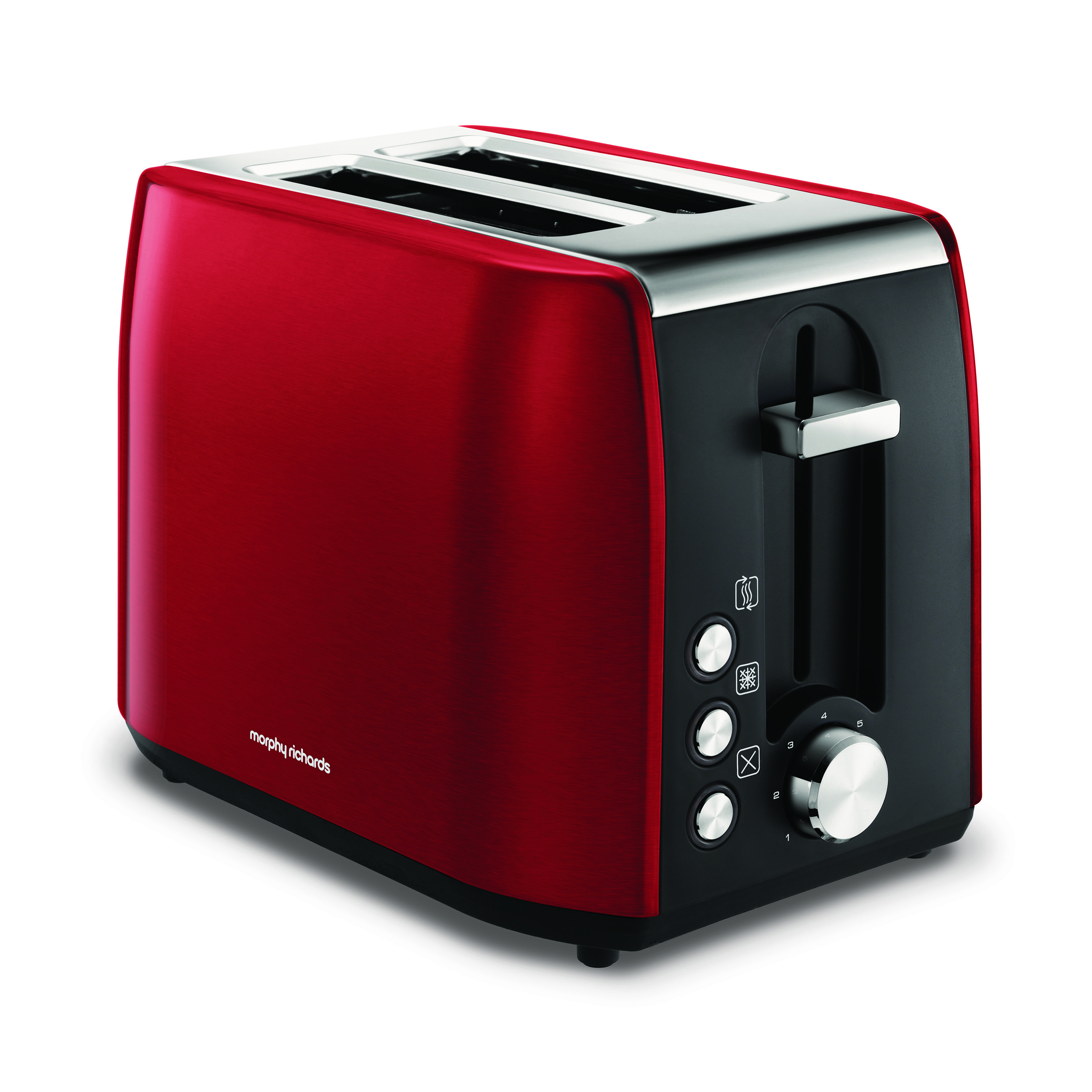 Morphy Richards 222060 Stainless Steel Equip 2-Slice Toaster | Red