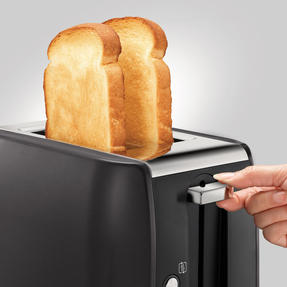Morphy Richards 222058 Stainless Steel Equip 2-Slice Toaster | Black Thumbnail 2