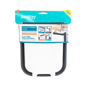 Beldray® LA077936EU7 Collapsible Cupboard Caddy | 4.5 Litre | Compact and Foldable Design | Easily Hooks Over Cupboard Doors Thumbnail 9