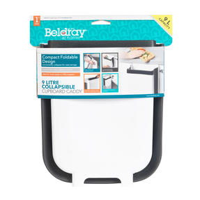 Beldray® LA077912EU7 Collapsible Cupboard Caddy | 9 Litre | Compact and Foldable Design | Easily Hooks Over Cupboard Doors Thumbnail 9