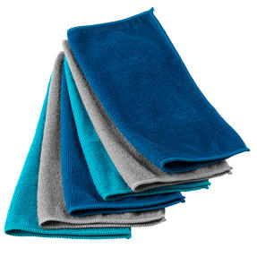 Beldray® LA077707UFEU7 6-Pack Super Absorbent Anti-Bac Microfibre Cloths | Perfect for Cleaning or Dusting | Washable and Reusable Thumbnail 4