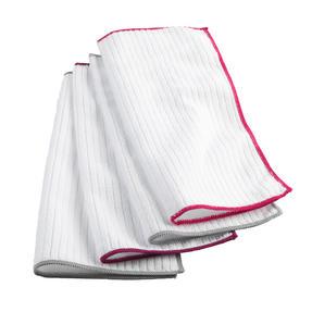 Kleeneze KL077714EU7 Microfibre Antibac Dish Cloths| Super Absorbent| Pack of 4| Pink Thumbnail 3