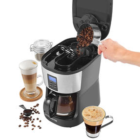 Salter® EK4368 Caffe Bean to Jug Coffee Maker | Perfect for Fresh Coffee | Integrated Grinding Blade | Programmable Timer | Auto Shut-Off Thumbnail 2