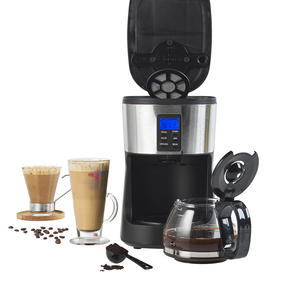 Salter® EK4368 Caffe Bean to Jug Coffee Maker | Perfect for Fresh Coffee | Integrated Grinding Blade | Programmable Timer | Auto Shut-Off Thumbnail 3