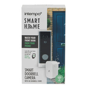 Intempo® EE5018LRSTKUK7 Smart 720 P Doorbell Camera with UK Plug Doorbell Chime | Control Your Home From Anywhere | Compatible with Alexa/Google Assistant Thumbnail 6